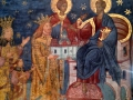 Each monastery had a painting where the king was giving the monastery to god. It was always cool looking!