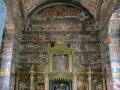 Interior of painted monasteries.