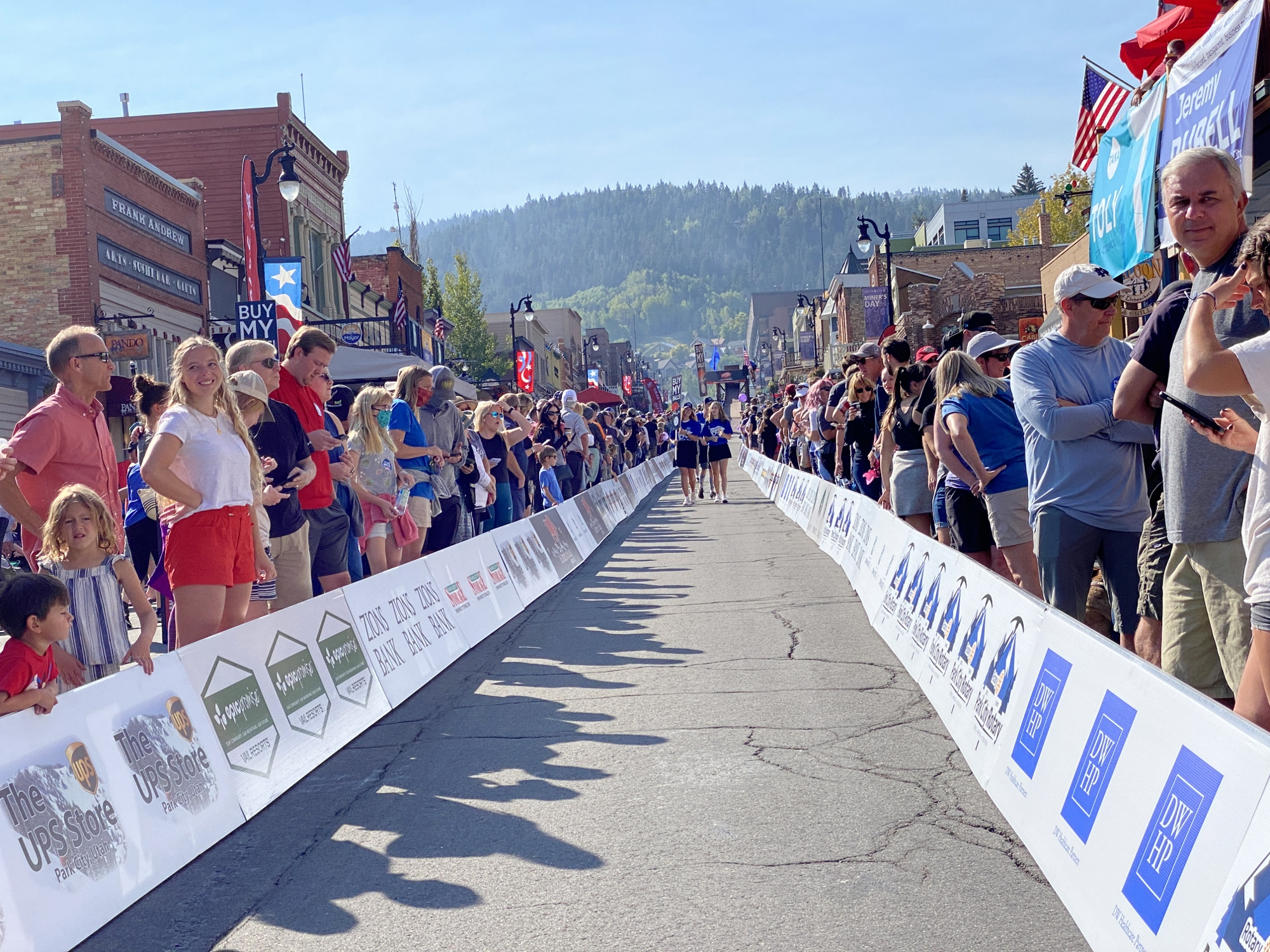 Park City Running of the Balls for Miner's Day!