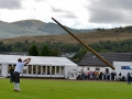 Just throwing a HUGE stick at the Highland Games in Dunoon, Scotland.