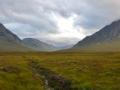 Scottish Highlands at the Isle of Skye.