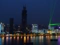 Shanghai now has lasers just like Hong Kong!