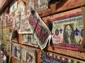 Really neat wall decorations at a cajun restaurant in Gatlinburg.