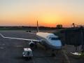 Early morning flights :/