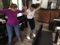 Jacquelyn learned traditional Bulgarian dance!