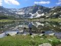 Hiking Musala Peak.