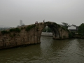 700 year old bridge in Suzhou over the grand canal. The canal was dug by hand about 1,000 years ago.