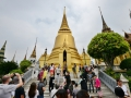 Temples in the Grand Palace complex in Bangkok.