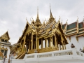 Monument in the Grand Palace complex, Bangkok.