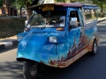 The best way to tour around Ayutthaya would be by tuk-tuk. Some tu-tuk owners pimped out their tuk-tuks.