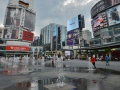 Yonge Dundas Square. It was a lot of fun! It was like Times Square in NYC but crappier.
