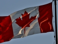 The Canadian Flag.