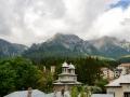 The Carpathean Mountains in Romania.