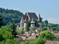 Fortified church in Transylvania.