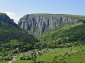 Turda Gorge. It was impossible to miss and quite pretty!