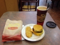 Eating the local cuisine is a must. In this case, Tim Hortons in Vancouver.