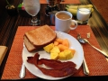 Very yummy breakfast every morning while traveling!