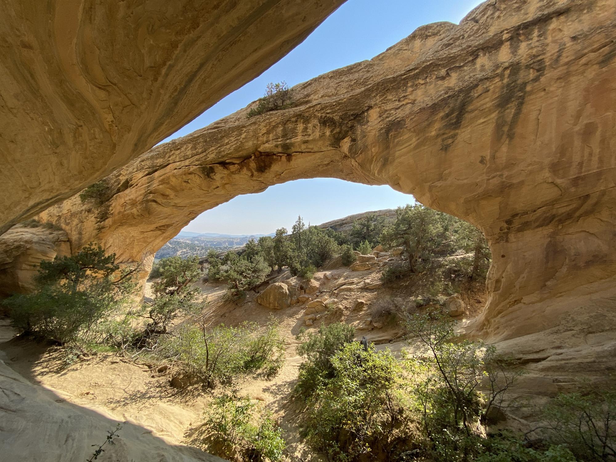 Moon Arch in Utah near Dinosaur National Monument