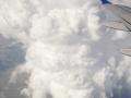 Big clouds over Wyoming. Plenty of turbulence :).