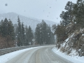 We brought the snow to Mt Charleston!