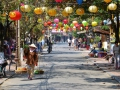 The neat town of Hoi An. Very famous for its lanterns.