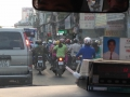 So many motor bikes in Vietnam, it's crazy and they drive everywhere!