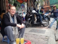 There were a lot of cafes in Vietnam where a person could sit, drink tea and watch the world go by!