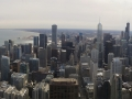 The view of Chicago from the John Hancock Building.