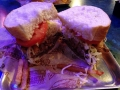 Amazing sandwich at Primanti in Pittsburgh, PA. Oh so good!