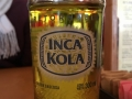 Inca Kola - amazing soda from Peru. Makes my teeth itch :)