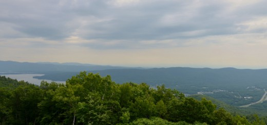 The-view-of-Lake-George-from-Prospect-Mountain