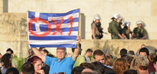 OXI-means-no.-These-are-anti-austerity-protesters-and-will-vote-no-on-the-July-5-referendum