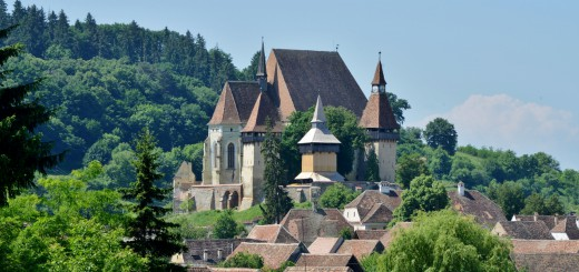Fortified-church-in-Transylvania